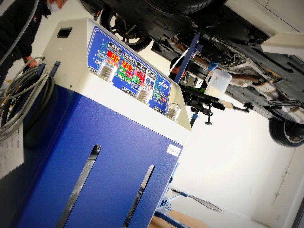 Salon de Studie AG +FUKUOKA- 3-21 BMW 3シリーズ ATF交換