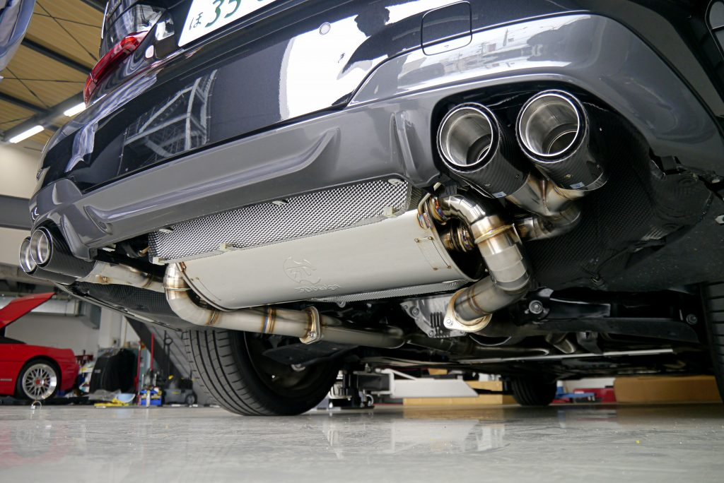 Studie 3DDesign BMW  スタディ 3DDesign マフラー BMW G20 M340i