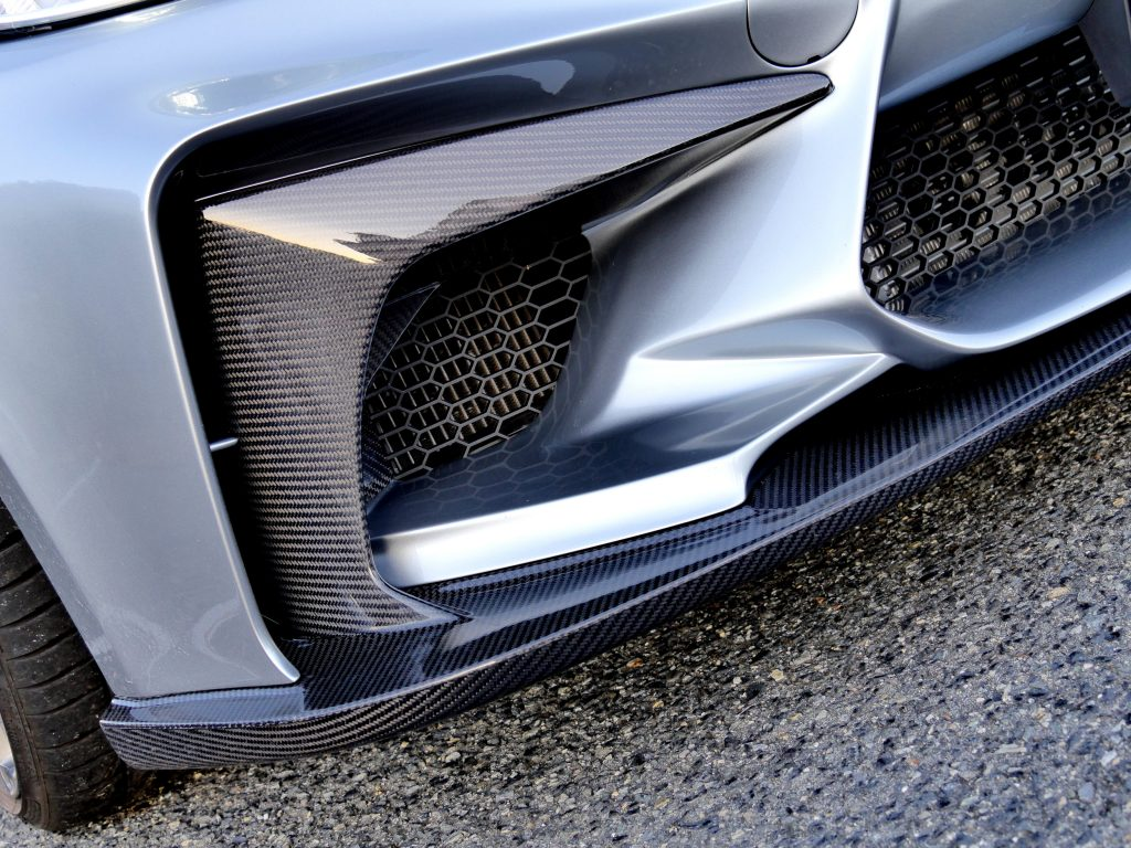 3D DesignフロントバンパースポイラーBMW F87 M2Studie