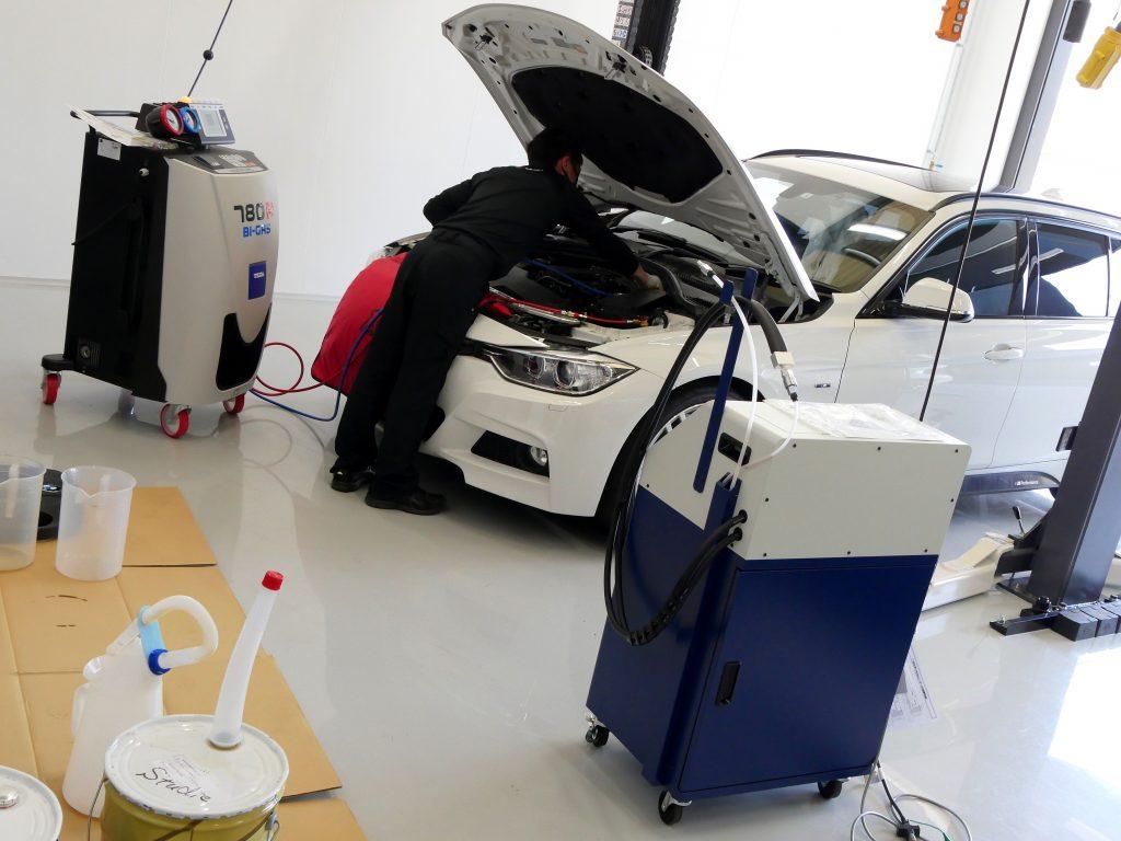 Salon de Studie AG +FUKUOKA- スタディ BMW ATF交換