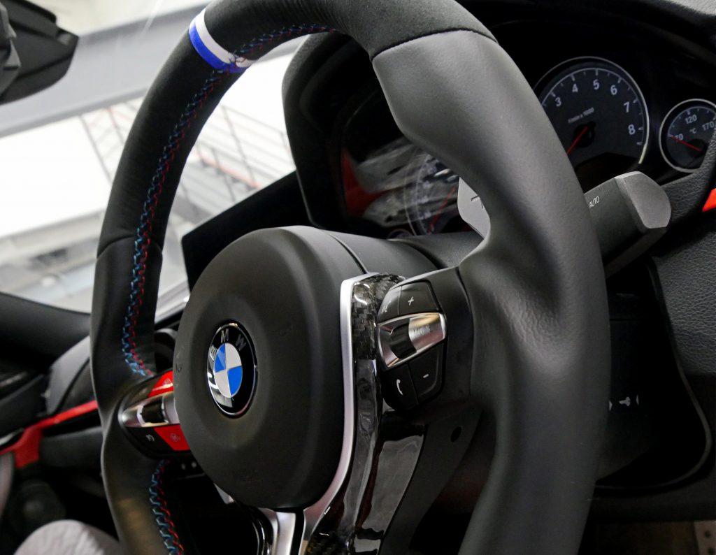 Salon de Studie AG +FUKUOKA- BMW M F82M4 3DDesign ステアリング スタディBMW