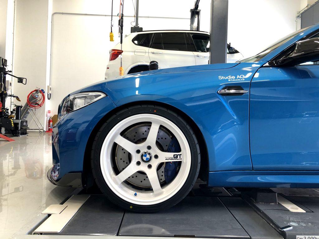 スタディ BMW BMW  Studie  Salon de Studie AG +FUKUOKA- BMW M2 ADVAN GT ADVAN NEOVA 01