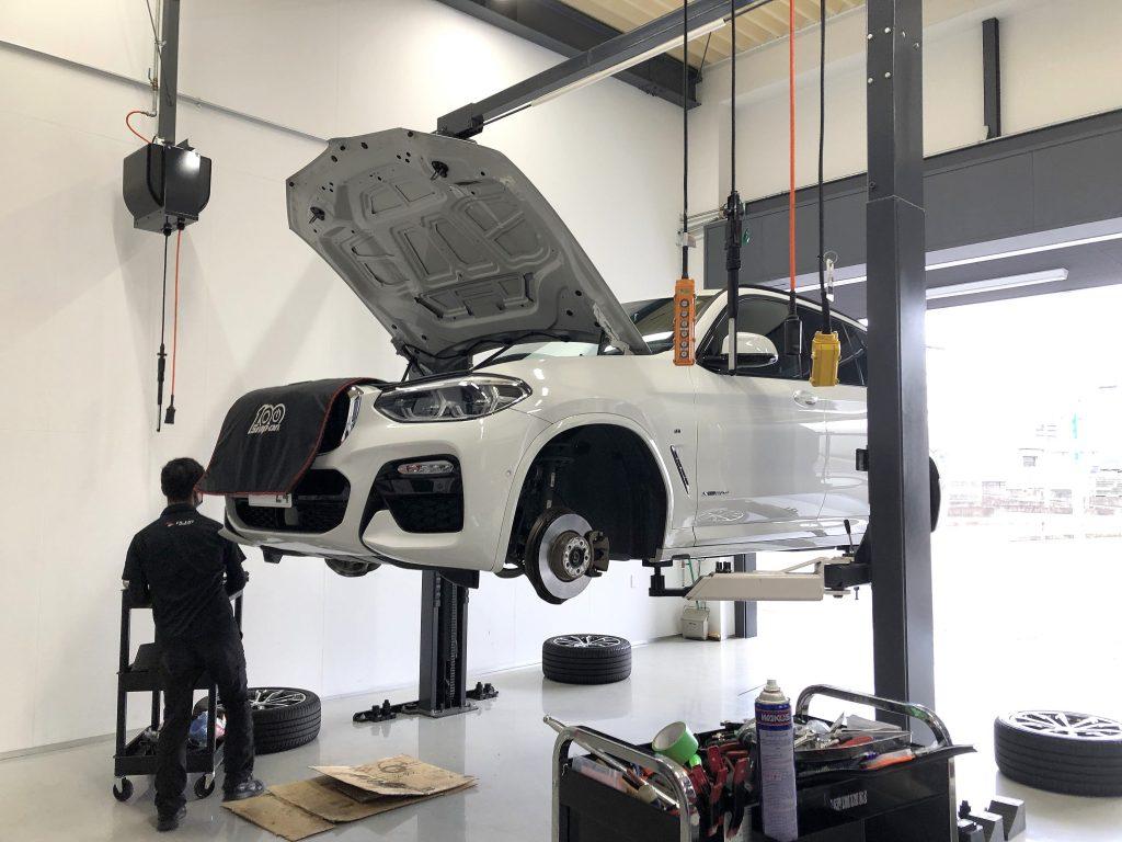 BMWG01X3にSR3ブレーキパッド