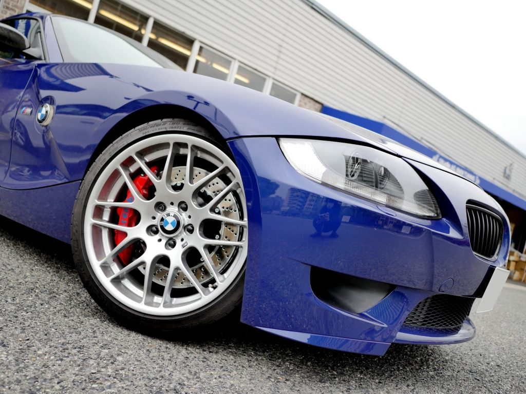 BMW E86 Z4M coupe brembo Studie