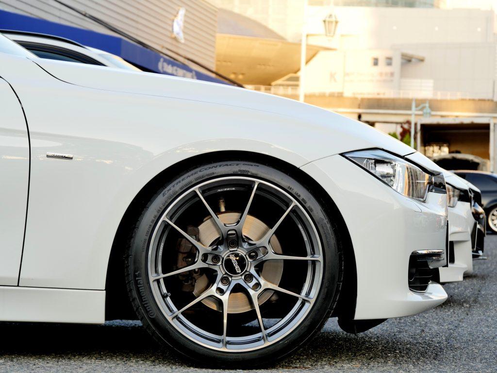 RAYS VOLK Racing G025 FD 19インチ BMW F30 320i Luxury