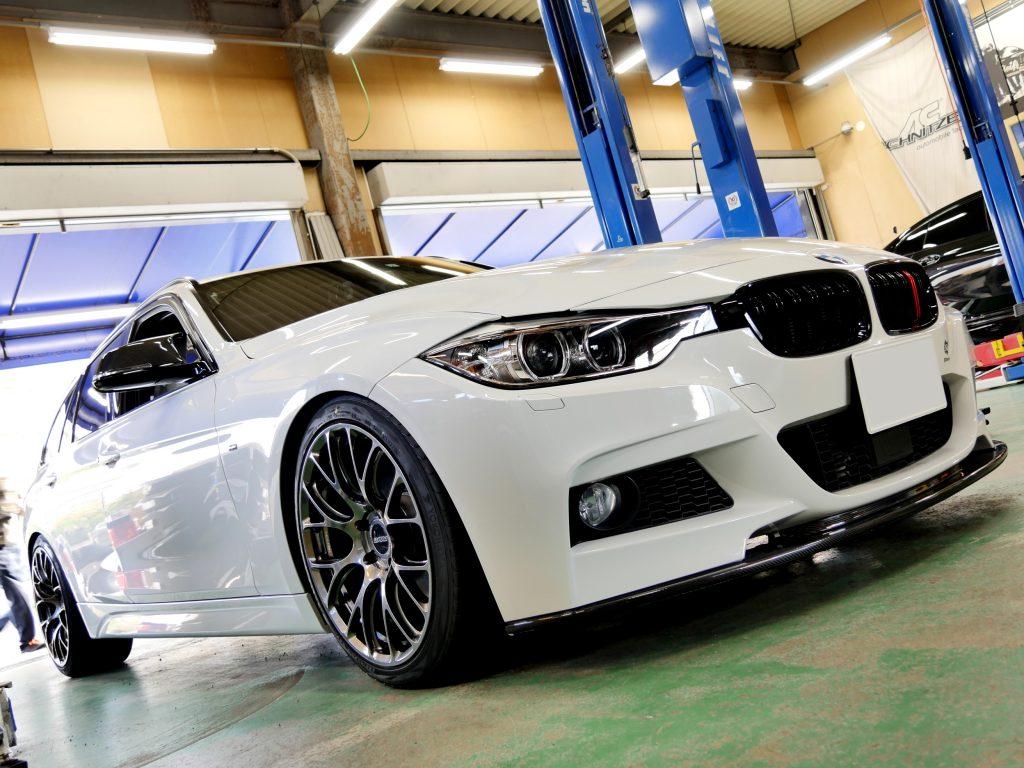 BMW F31 320d MspRAYS VOLK Racing G16 ME 19inADVAN SPORT V105