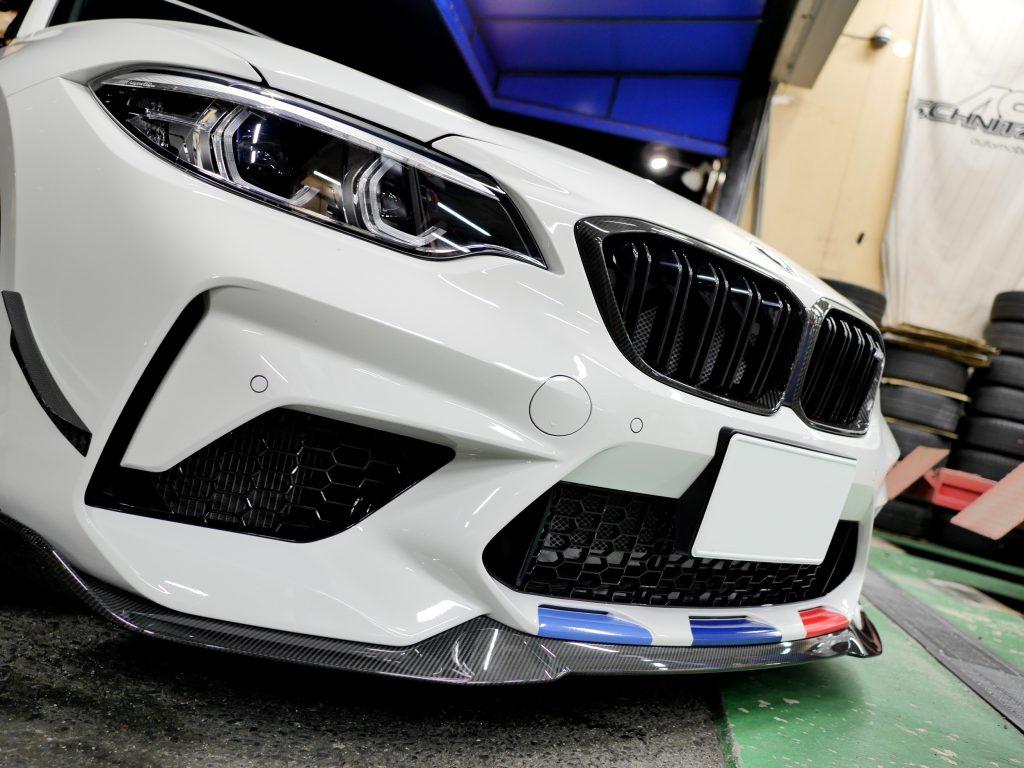 BMW F87 M2 Competition M2CS Carbon LIPCarbonトランクスポイラー