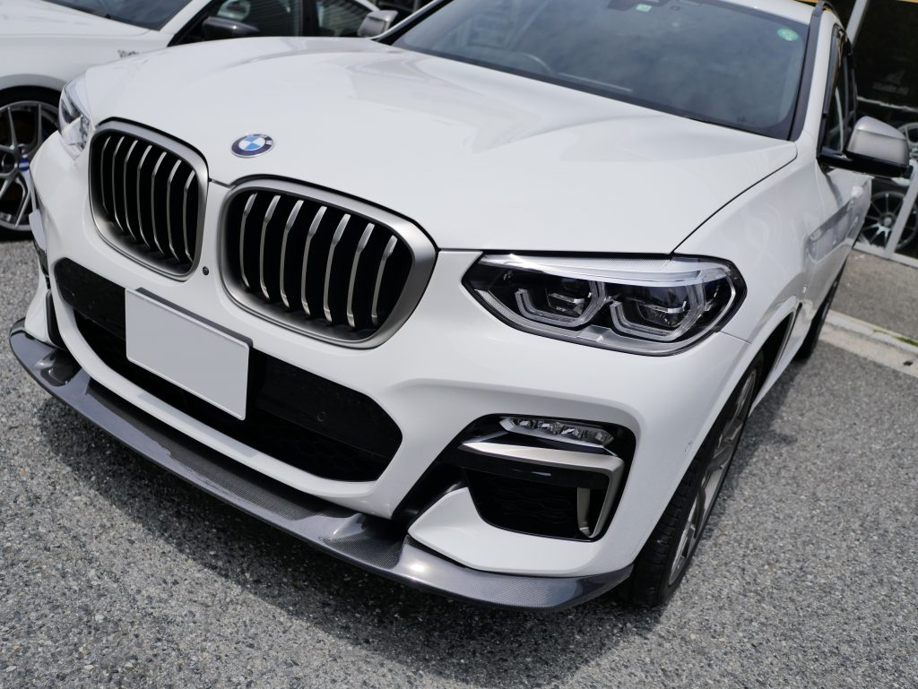 BMW G01 M40d Msp 3D Design Carbon Lip