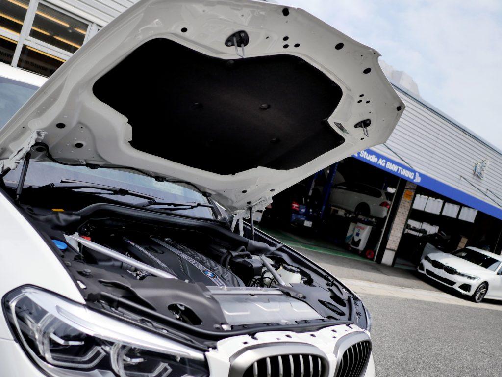 G01 M40d ボンネットインシュレーター BMW X3 静粛性