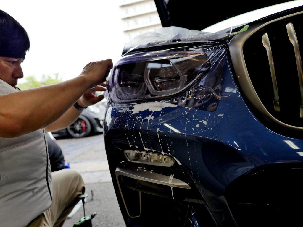 BMW G01X3/M40d STEK