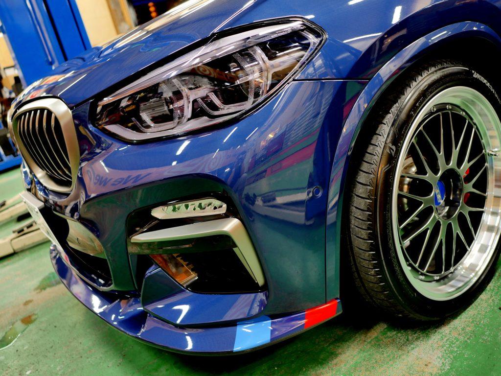 BMW G01X3/M40d STEKMカラーラッピング