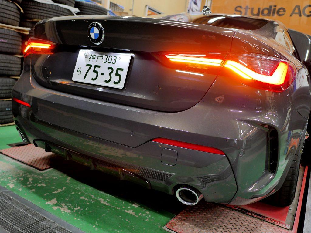 BMW,4シリーズ,420i,Mスポーツ,G22,BREX,Lightning,Winker
