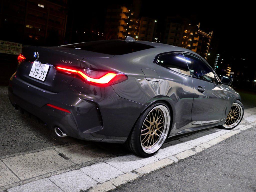 BMW 4シリーズ クーペG22 420i MスポーツBBS LM DG-BKBDLimited 限定