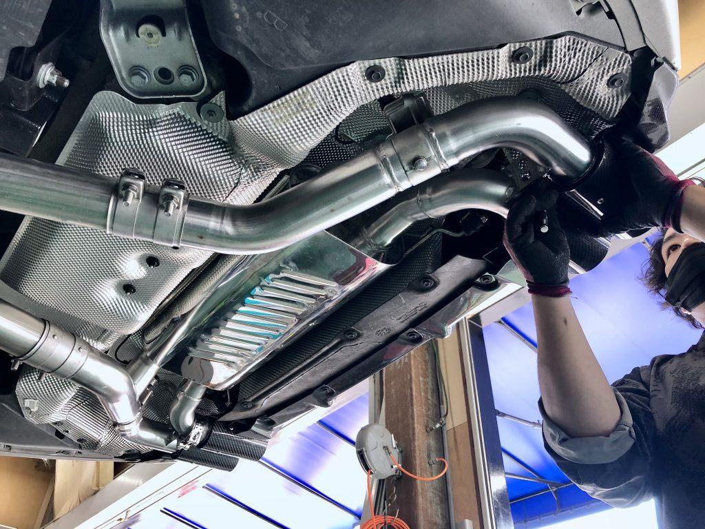 eisenmann BMW G20/M340i Carbon 4Tail