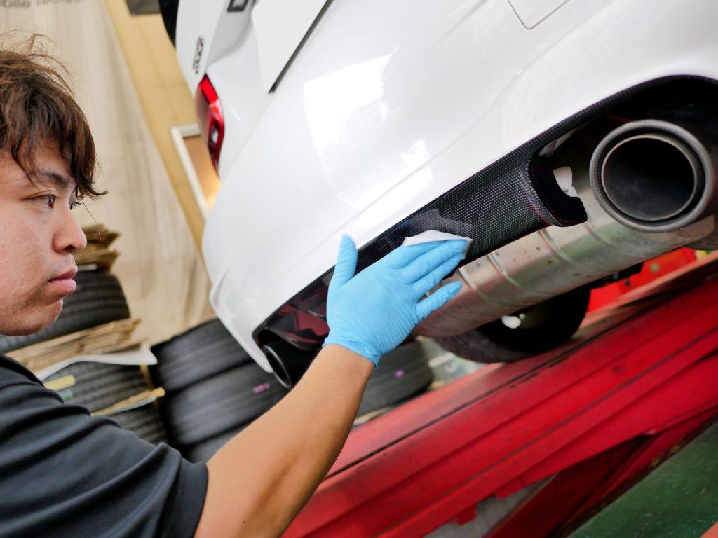 LAST COATING Carbon リアディフューザー BMW F30