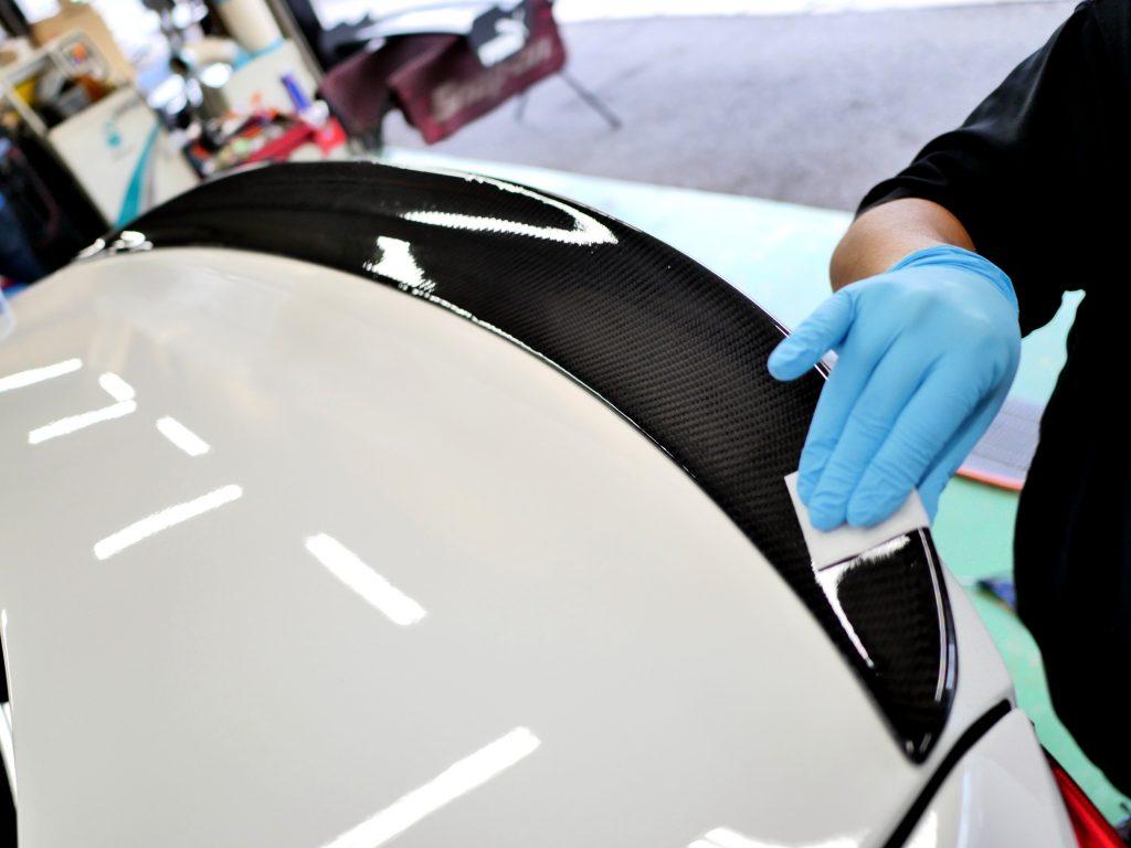 LAST COATING Carbon トランクスポイラー BMW F30