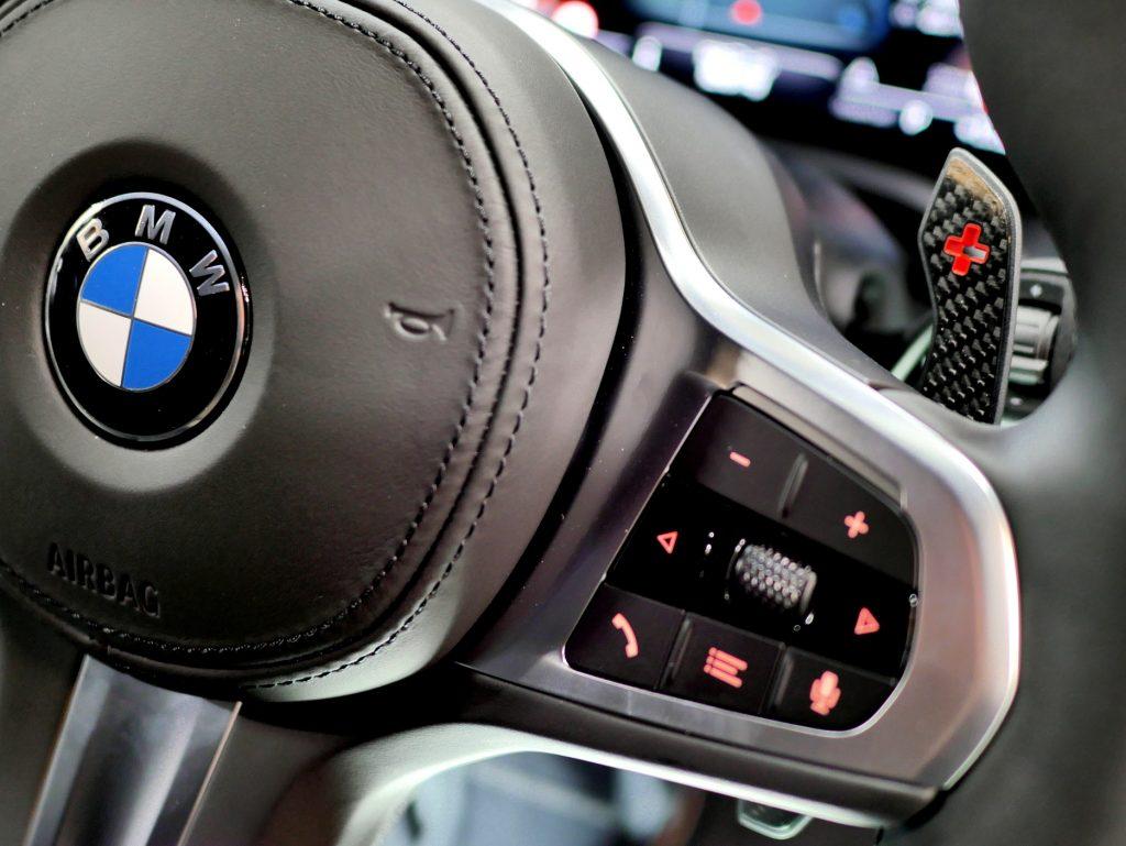 BMW G80 M3 G82 M4Carbonパドルレバー