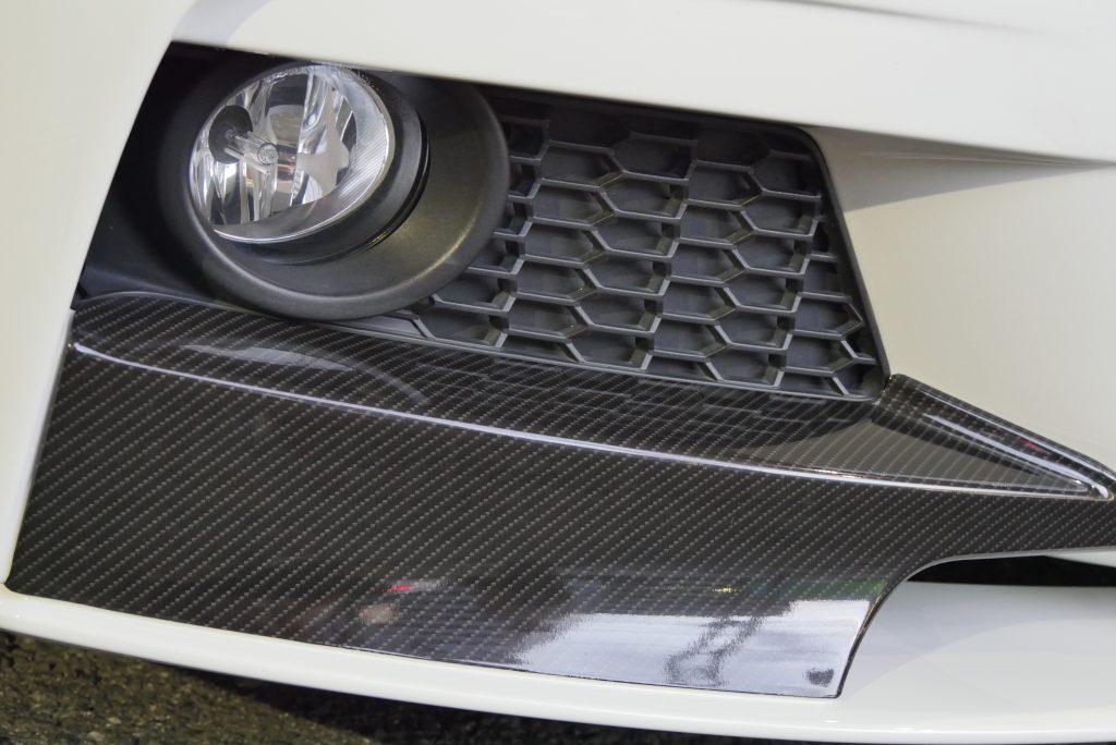 F3xMPPフロントリップカーボンラッピング