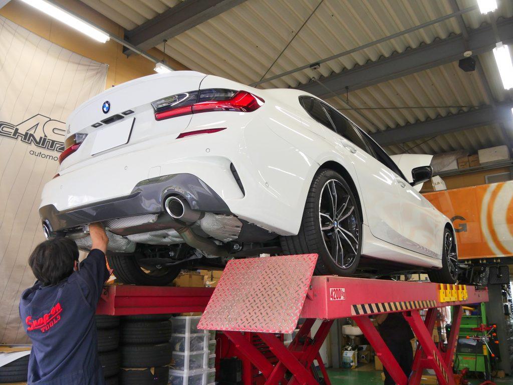 BMW 3シリーズ G20 COXボディダンパー
