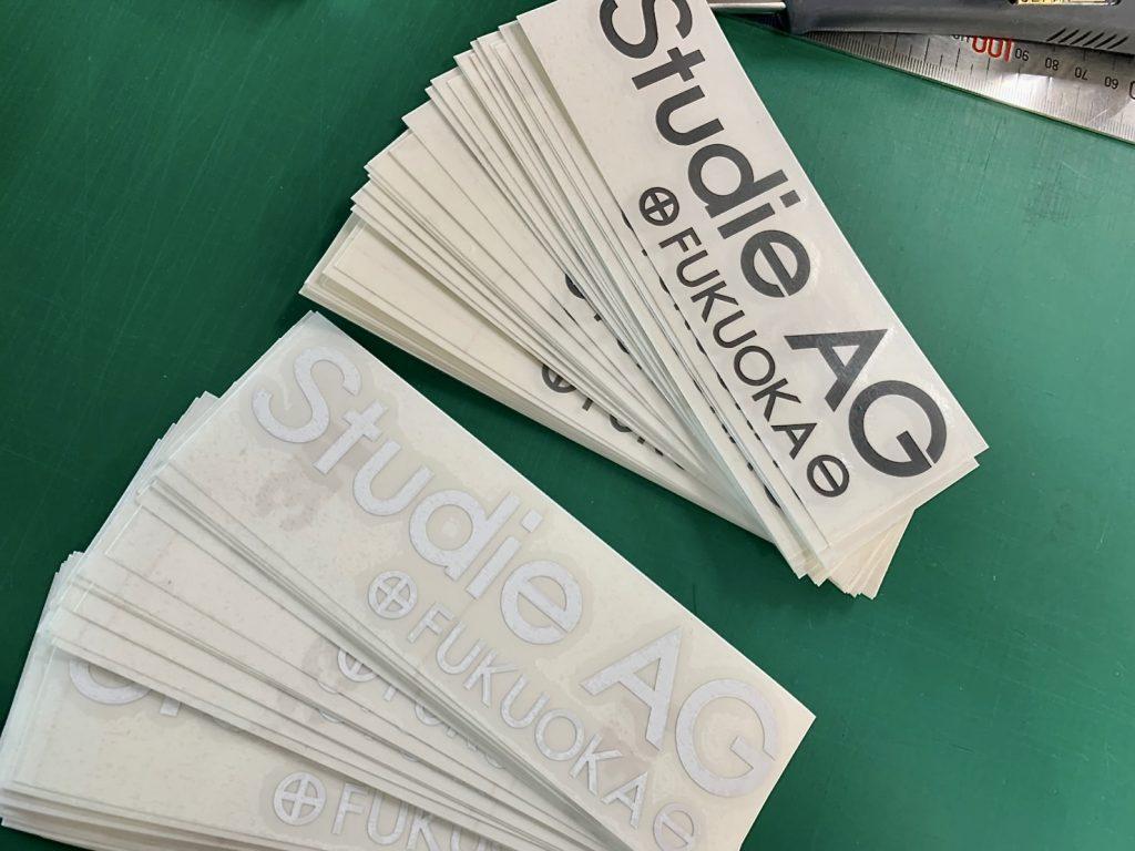 Salon de Studie AG +FUKUOKA- ステッカー