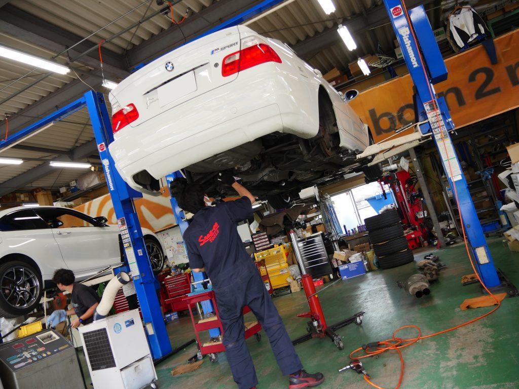 Studie AG BMW Tuning BMW 3series E46 Maintenance Menue
