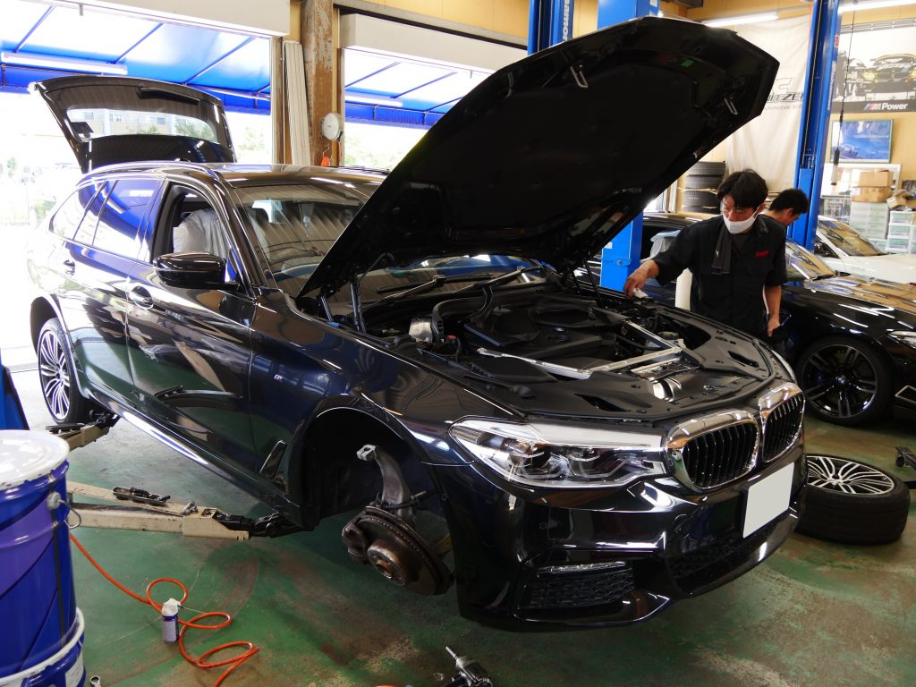 Studie AG BMW Tuning BMW 5series G31 3DDesign Suspention Kit