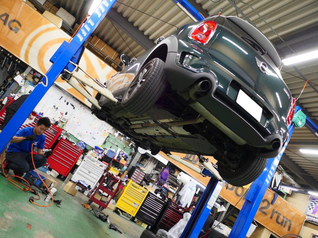 Studie AG BMW Tuning BMW MINI R60 KW Suspention DIXCEL