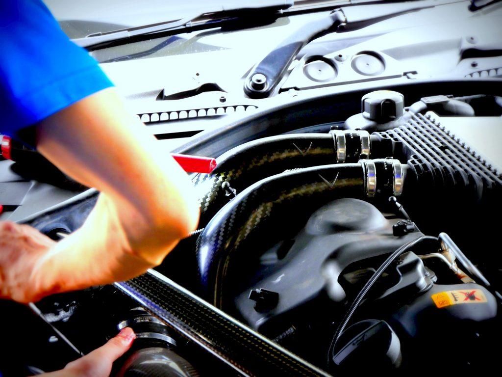 Studie AG BMW Tuning EVENTURI BMW M3 M4 intake Carbon