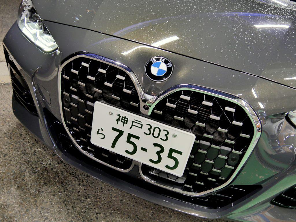 Studie AG +KOBE-BMW G22 420i Mスポーツドラバイトグレー