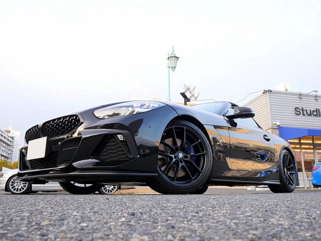 Studie AG +kobe- BMW Tuning BMW G29Z4 OZRacing LEGGERA HLT Limited MATTE BLACK Wheel