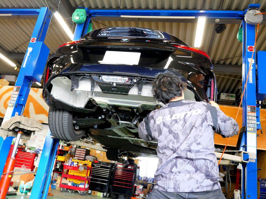 Studie BMW Tuning 3DDesign G29Z4 M40i Exhaust JQR G29-M40i 01