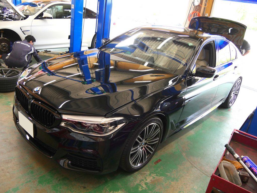 Studie BMW Tuning BMW 5series G30 BMW KW Suspention