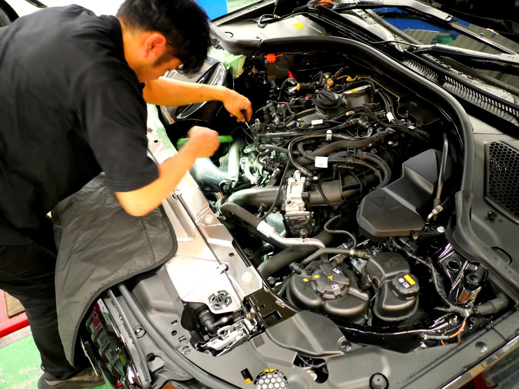 Studie BMW Tuning BMW EVENTURI Carbon Intake BMW 3series EVENTURI