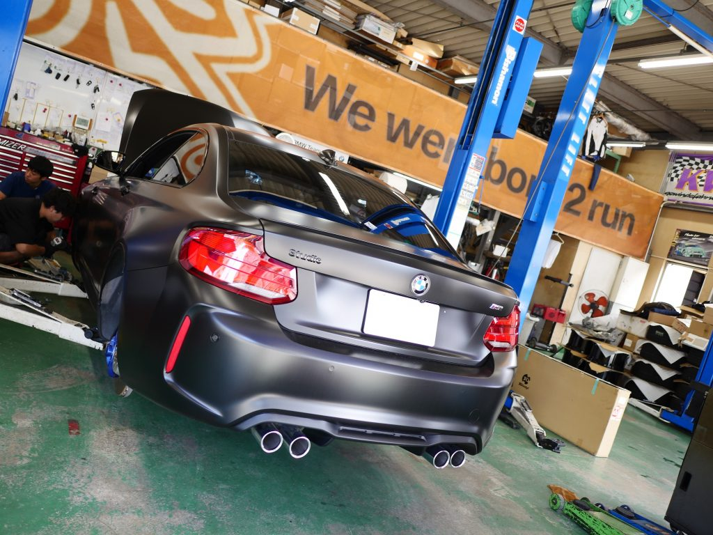 Studie BMW Tuning BMW KW Suspetion BMW M2