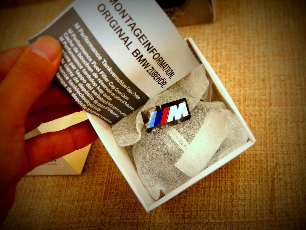 Studie BMW Tuning BMW M PERFORMANCE FUEL FILLTER CAP COVER CARBON