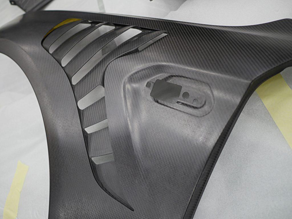 Studie BMW Tuning BMW M2 ALPHA-N Carbon Fender