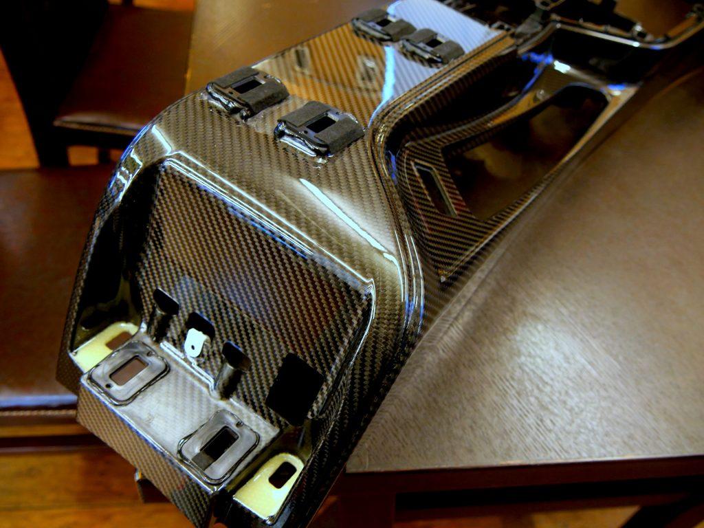 Studie BMW Tuning BMW M2CS BMW M PERFORMANCE LightWeight Carbon-fiber centre console