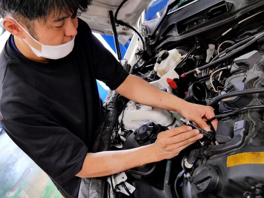 BMW インジェクター 洗浄 Studie 性能復活