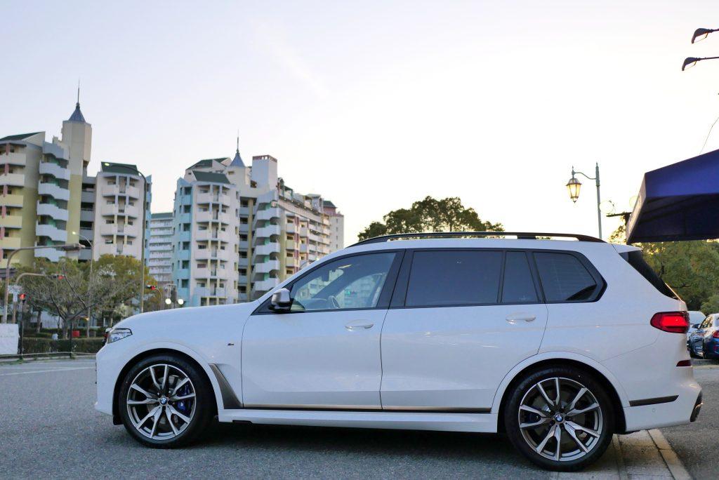 BMW G07 X7 M50iロアリング3D DesignSTP3 ブーストアップ