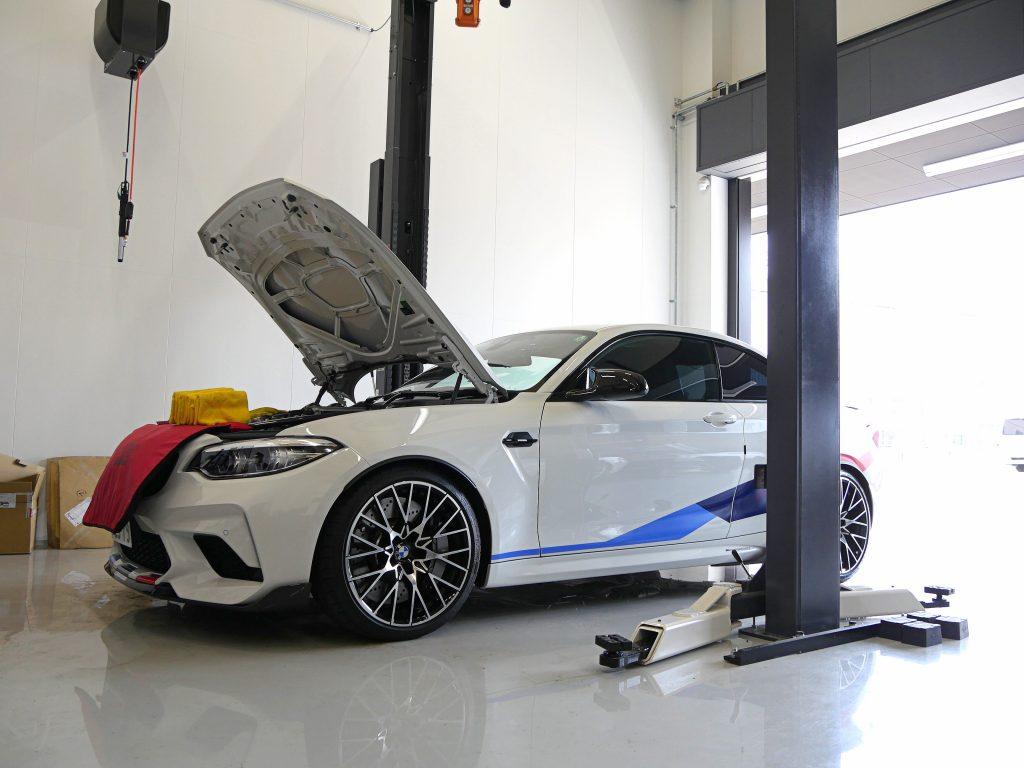 Salon de Studie AG +FUKUOKA- 3-26 スタディ BMW M2Competition プラズマダイレクト