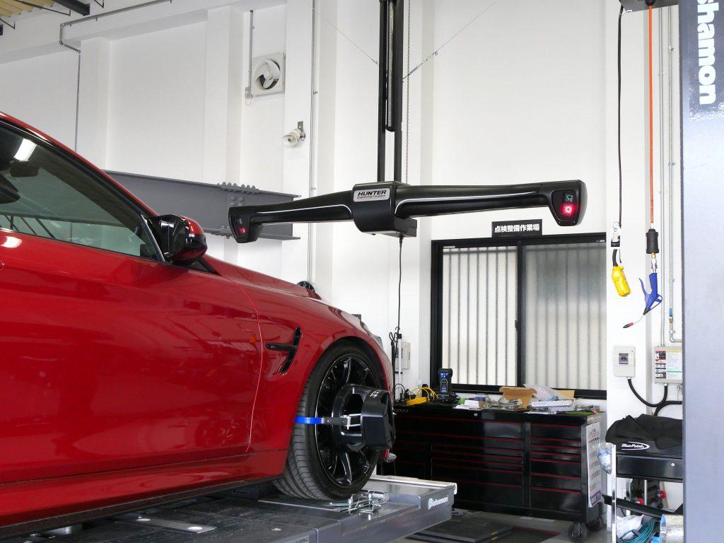 Salon de Studie AG +FUKUOKA- BMW M4 スタディ アライメント