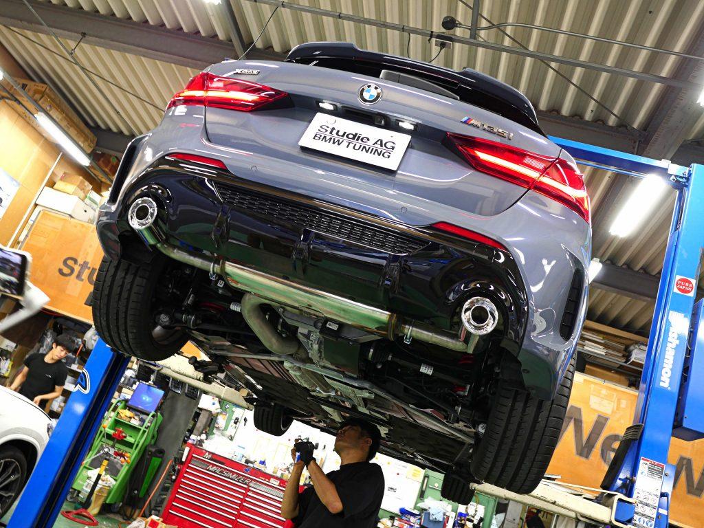 Studie AG BMW Tuning SuperSprint スーパースプリント BMW 1シリーズ F40 M135iX