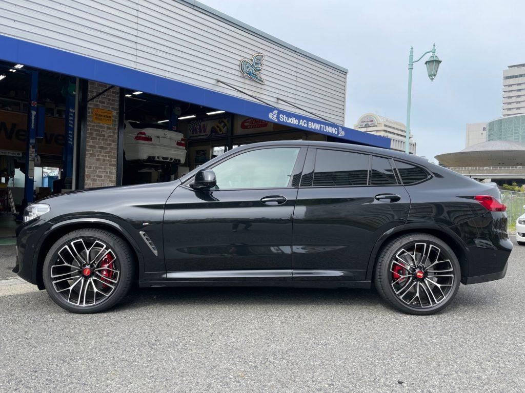 BMW G02 X4 M40iへMSS Urban Fully Adjustableキットでコンフォートな乗り味へ!