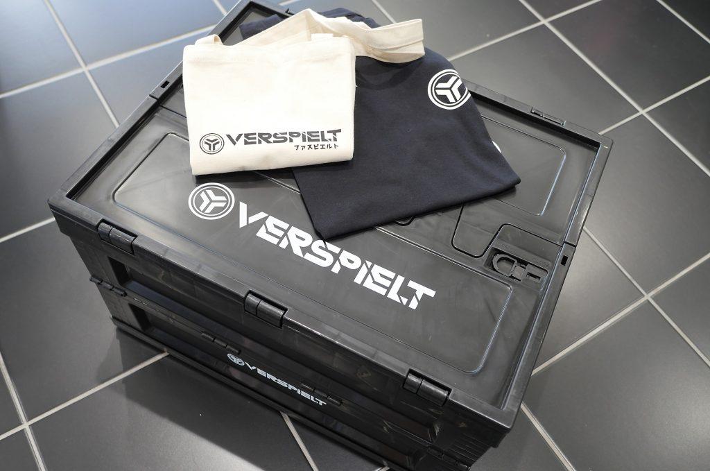 VERSPIELT オリジナルコンテナボックス&Tシャツ&エコBAG 有限会社 SF I